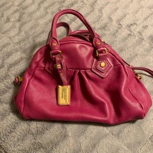 Marc by Marc Jacobs fuschia pink handbag